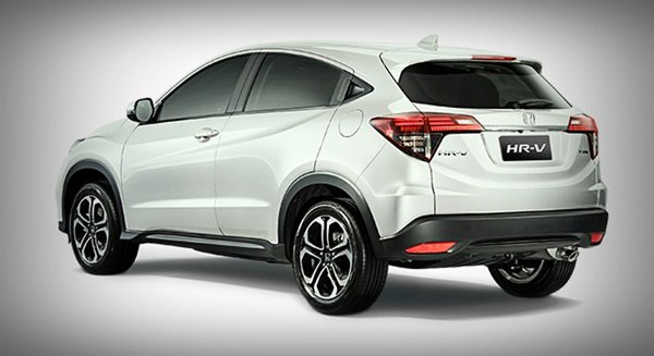 A picture of the Honda HR-V 2019 rear