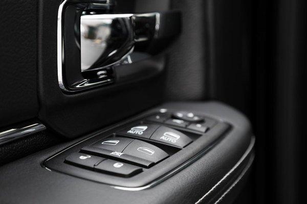 Power windows buttons
