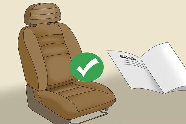 Car seat and a manual