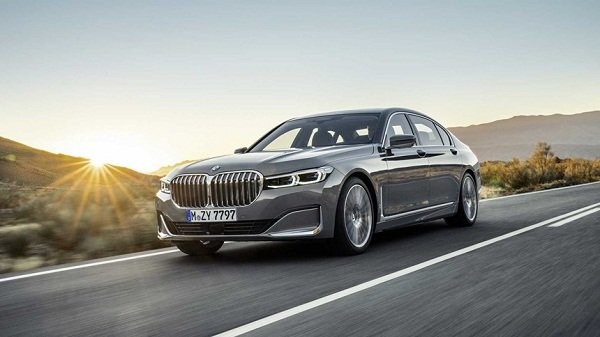 luxury car - bmw 7 series