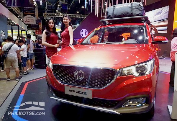 A picture of a MG ZS 2019 at MIAS