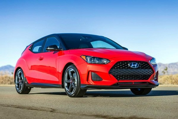Hyundai Veloster 2019 exterior : front view