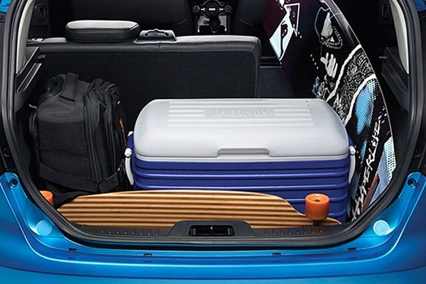 Trunk Space of the Ford Fiesta