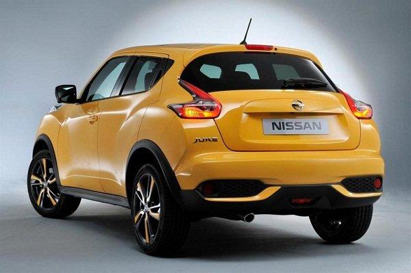 Nissan Juke rear view