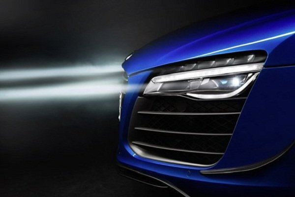 Laser headlight
