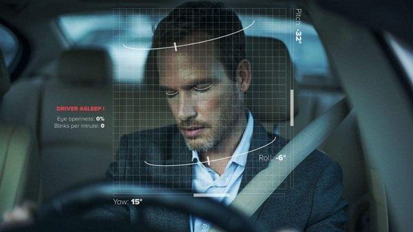 Facial detection drowsiness alert system
