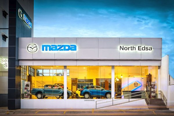 A picture of the Mazda EDSA dealership