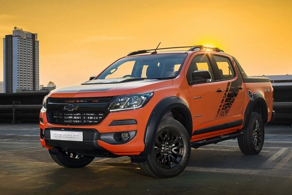 Chevrolet Colorado High Country Storm 2019 front view