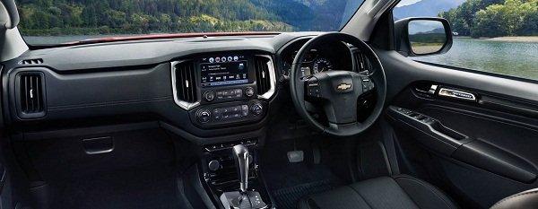 Chevrolet Colorado High Country Storm 2019 interior