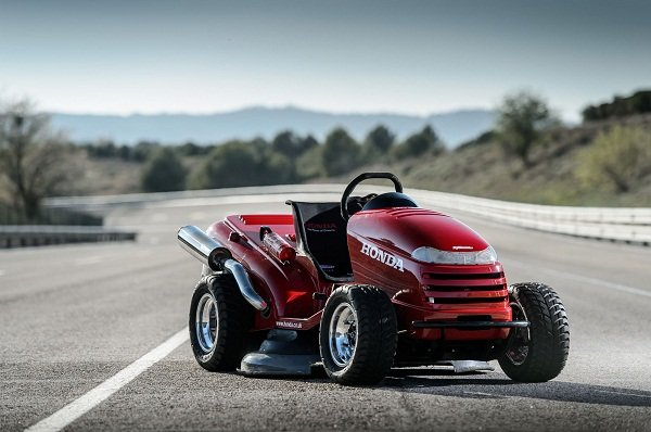 A picture of the Honda Mean Mower V2