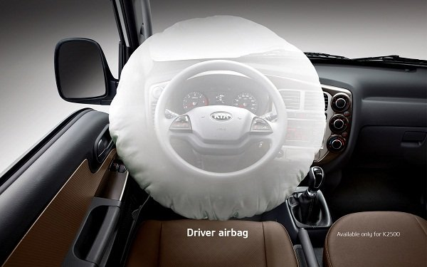 A picture of the Kia K2500 2019 airbag
