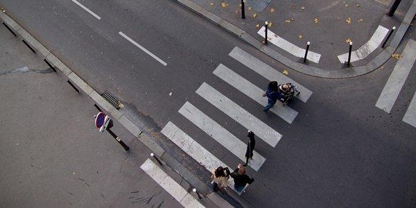 Road markings Philippines zebra crossing