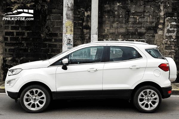 Ford Ecosport 1.0 EcoBoost Titanium 2020 Side profile
