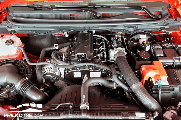 Ford Ranger XLS Sport Engine Bay