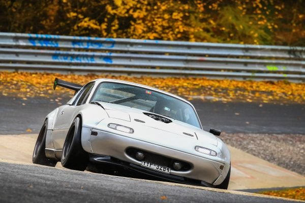 Miata on Nurburgring