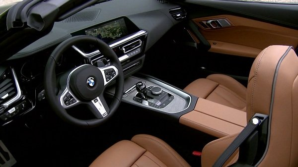 A picture of the new BMW Z4 2019 interior