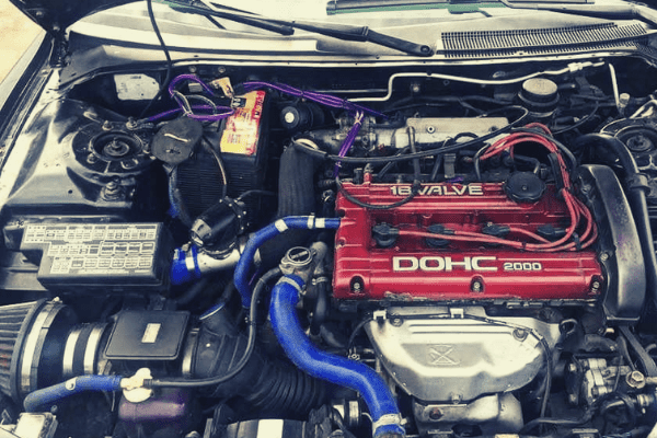 4G63T Engine Bay