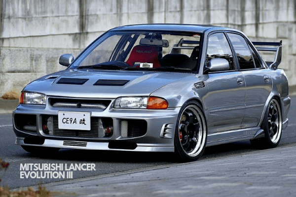 Lancer Evolution III on the Road