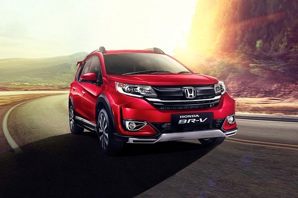 A picture the face lifted 2019 Honda BR-V