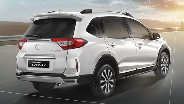 A picture of the rear of the facelifted Honda BR-V
