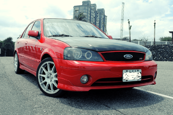 Ford Lynx RS on the Road
