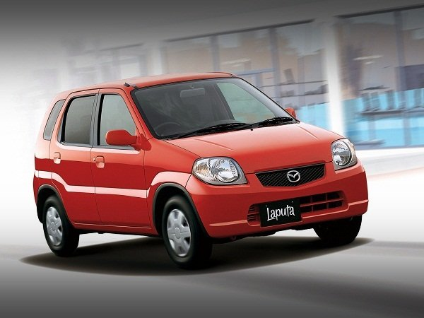 Mazda Laputa on the Road