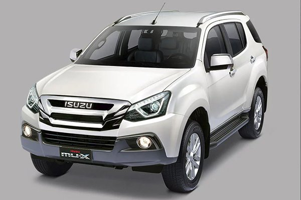 Isuzu mu-X 2020 whole look