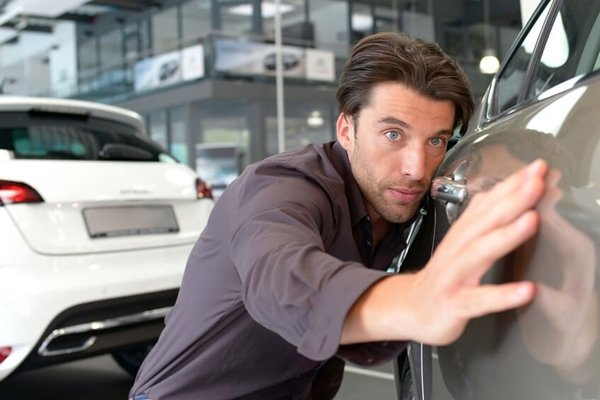 checking car