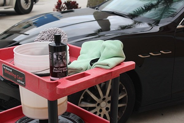 DIY ceramic coating preparation