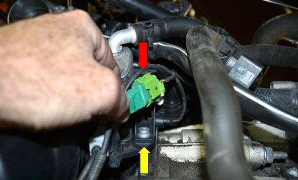 The engine speed sensor