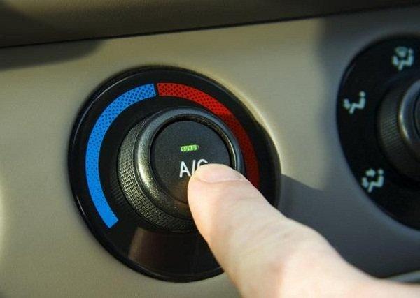 Turn off car AC