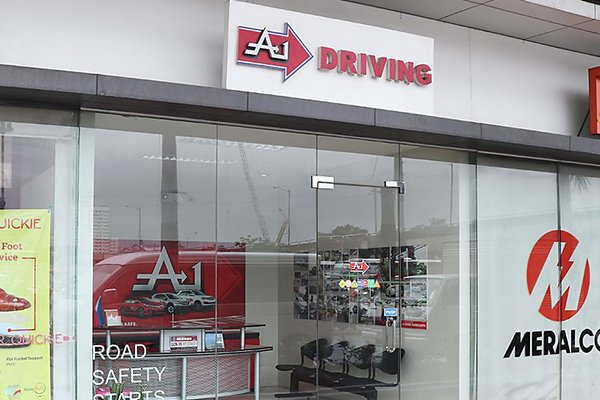 A picture of the front of the A-1 Market Market branch