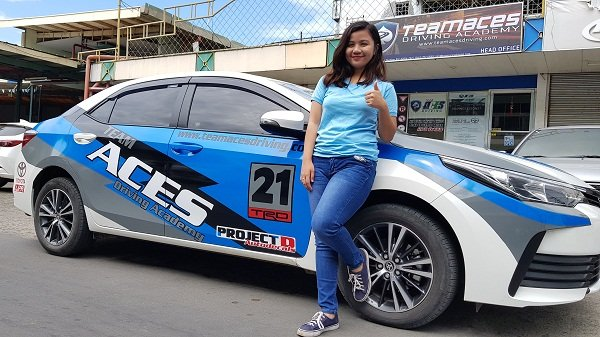 TeamAces driving academy branch in Davao City