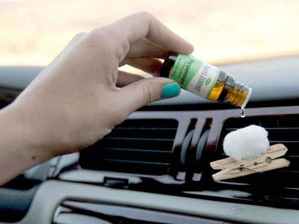 essential oils used for cars