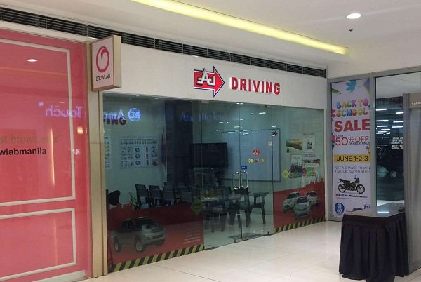 A picture of the A-1 Driving school in Marikina