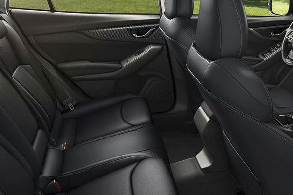 2019 Subaru Impreza rear passenger cabin
