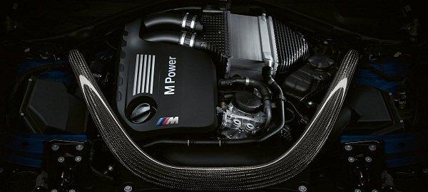 BMW M3 Engine Bay