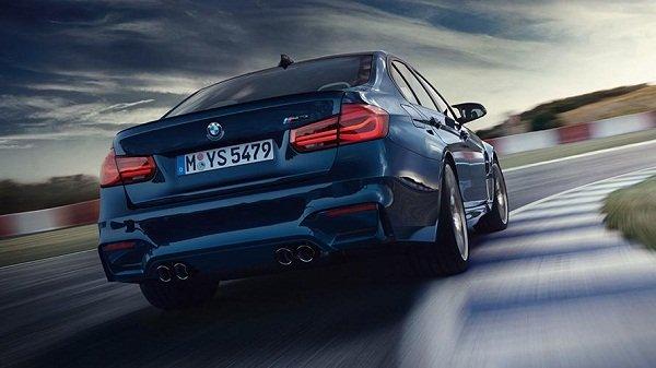 BMW M3 rear view