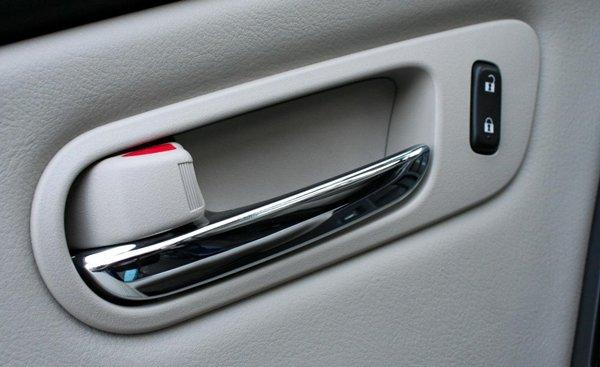 electronic car door handle
