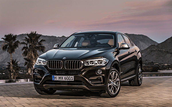 BMW X6 on the Road