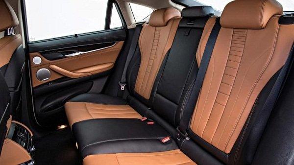 BMW X6 rear Seats