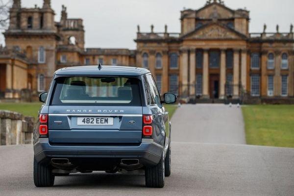 Range Rover 2019 rear view