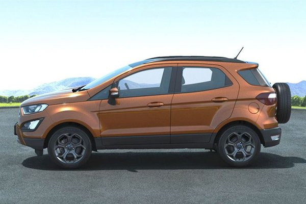 2020 Ford Ecosport side view