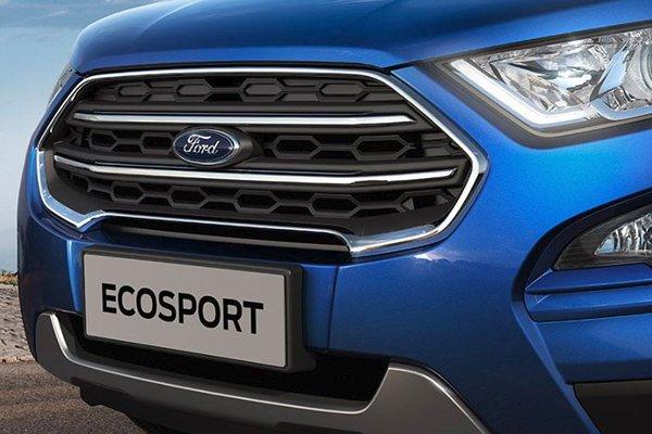 2020 Ford Ecosport's grille