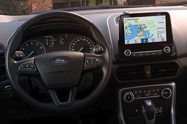 Ford Ecosport 2020 dashboard view