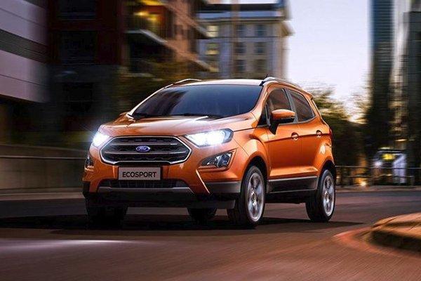 Ford Ecosport 2020 orange color