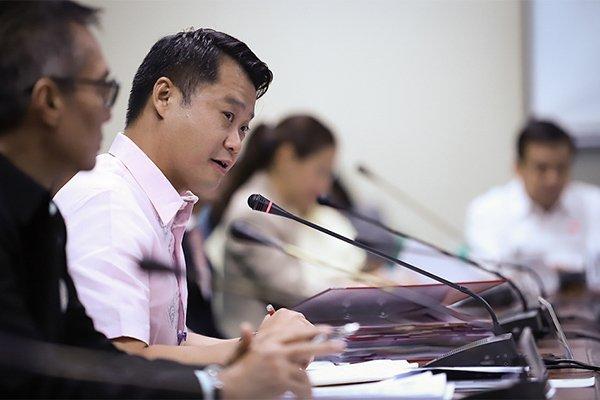 A picture of Senator Sherwin Gatchalian