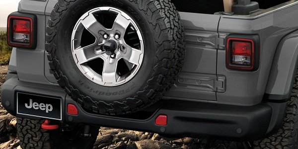 Jeep Wrangler rear view