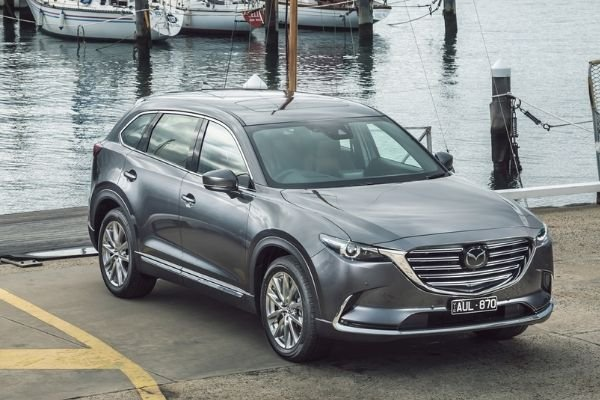 Mazda CX-9 on the Docks