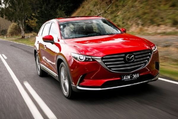 Mazda CX-9 on the Road